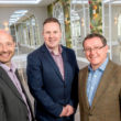 Lloyds bank has provided funding to renovate the Deer Park Orangery for wedding ceremonies. From left - Lloyds Bank relationship manager Martin Potts, The Deer Park sales and marketing director Mike Arscott and Managing Director Mark Godfrey.