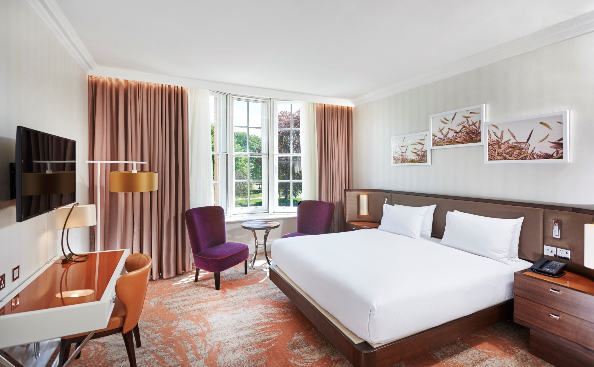 Hilton London Hyde Park King Deluxe Room with View