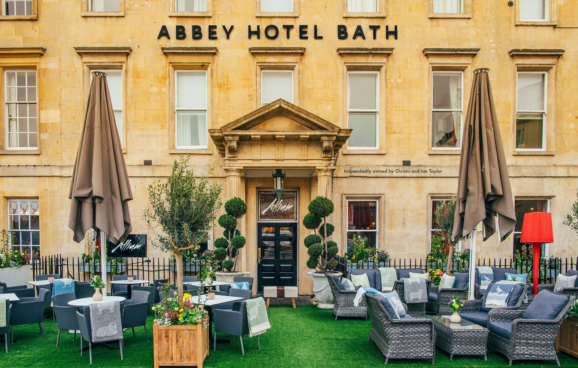 Abbey Hotel exterior
