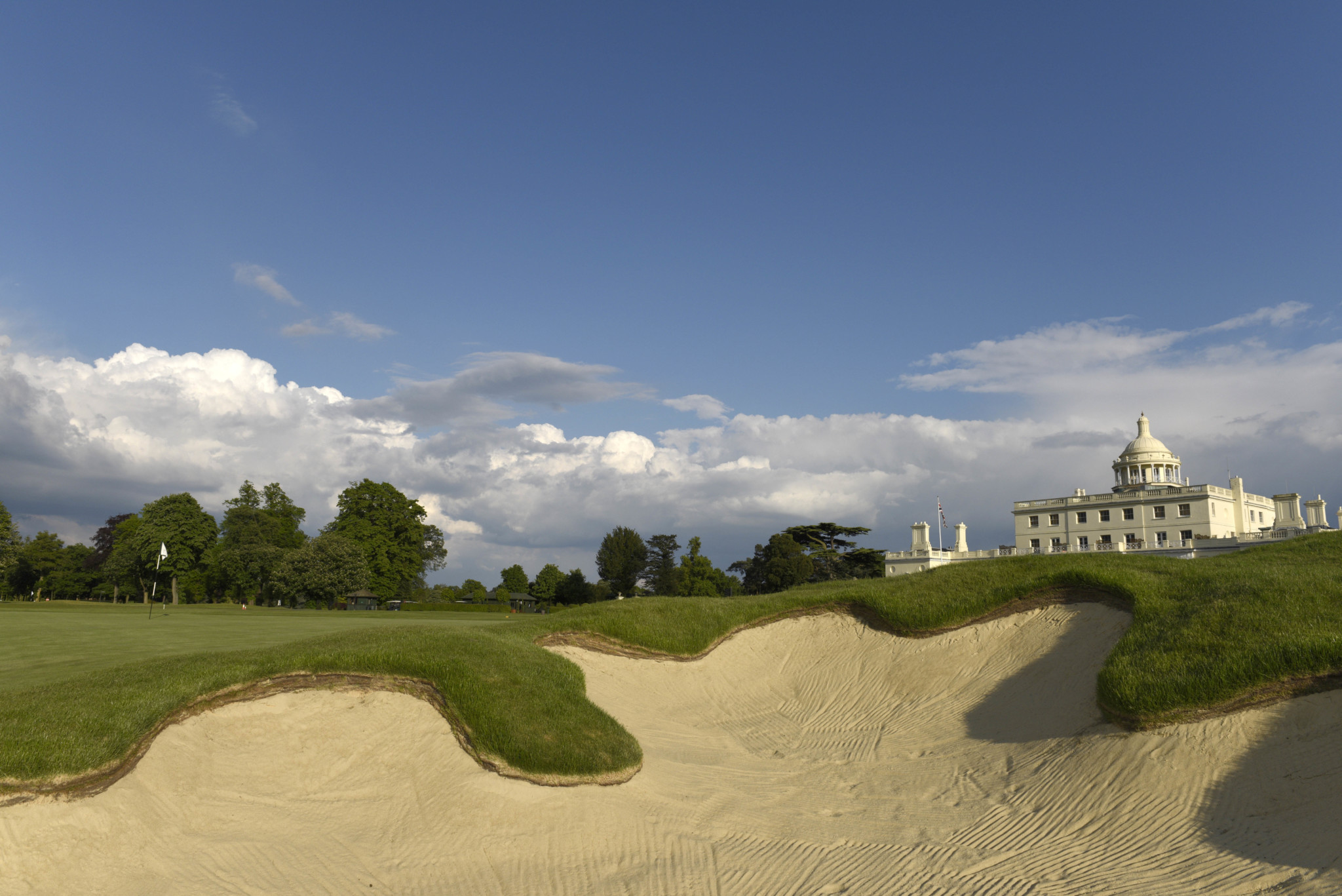 9th par 4 Colt,SPC,Stoke Park Club,Stoke Poges,Bucks, England.