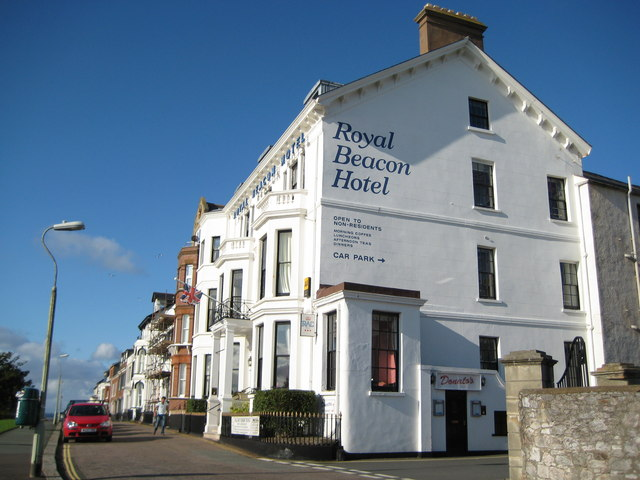 Exmouth,_The_Royal_Beacon_Hotel_-_geograph.org.uk_-_999153