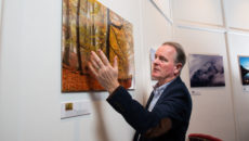 Scottish landscape photographer Colin Prior opens new exhibition at Cameron House Hotel, Loch Lomond.