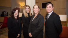 Samantha Thompson, Lauren Craigie, Angela Greenhalgh & Scott Cairns, Skene House 2