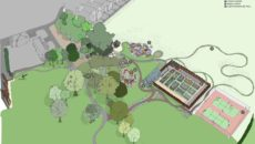 Artist Impression of Rockliffe Hall development