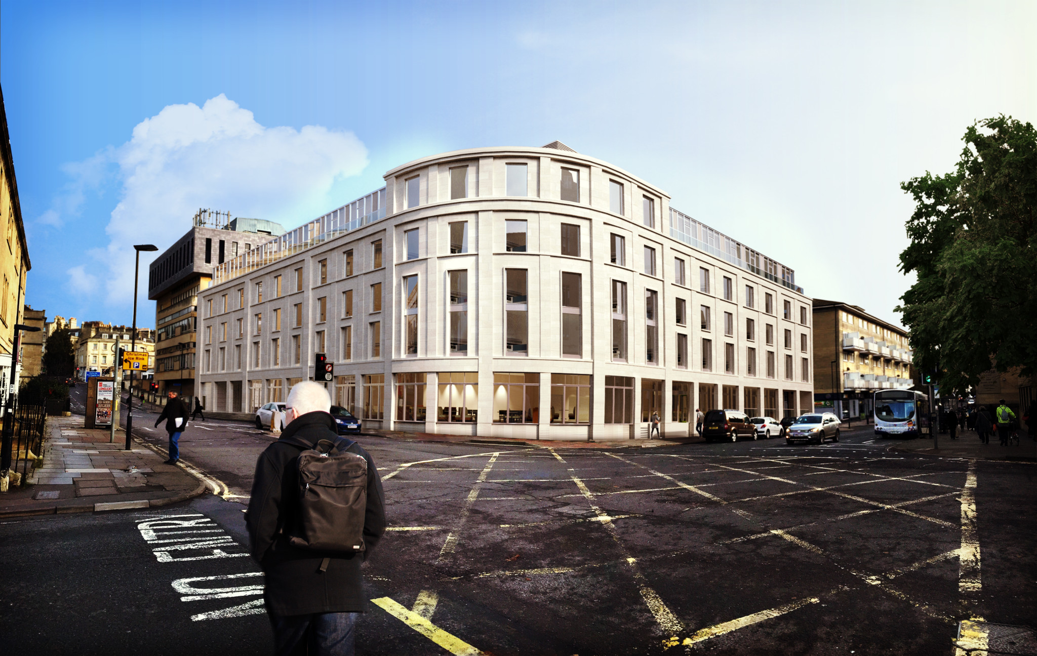 City of Bath Apex Hotel - CGI