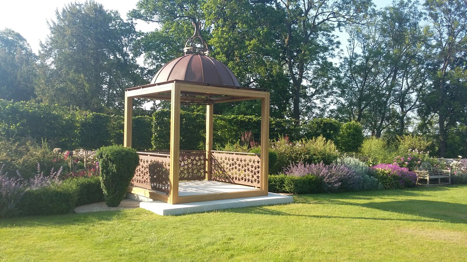 The Wood Norton's New Outdoor Wedding Pavilion