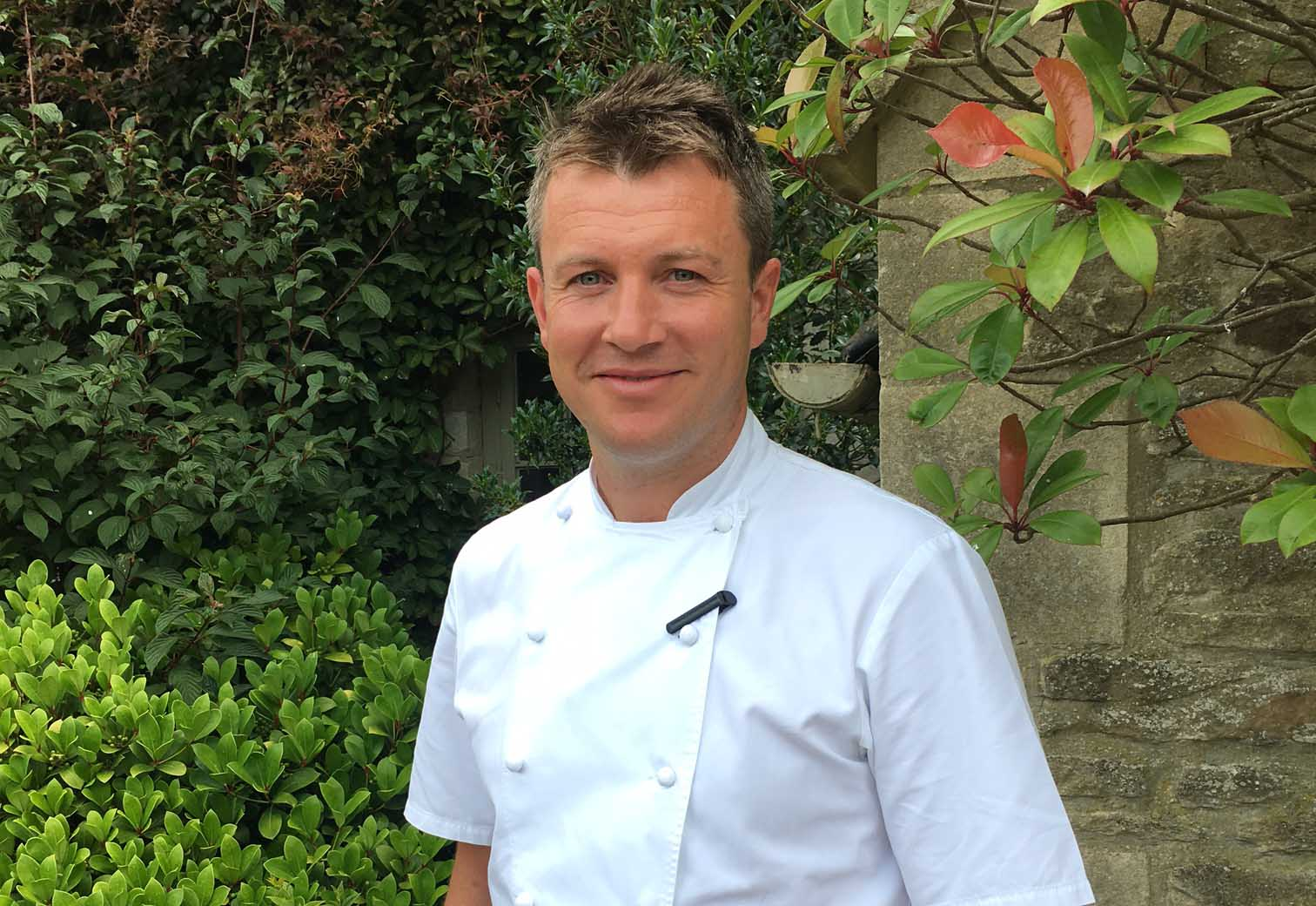Richard Davies, Executive Chef, Calcot