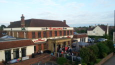 The Three Mile Inn (external from bridge)