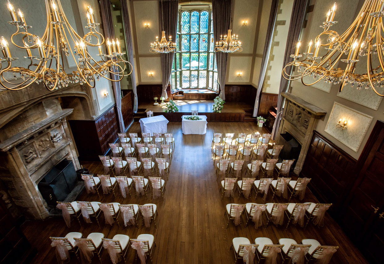 The new-look Great Hall at Redworth Hall Hotel – credit Focal Point Photography
