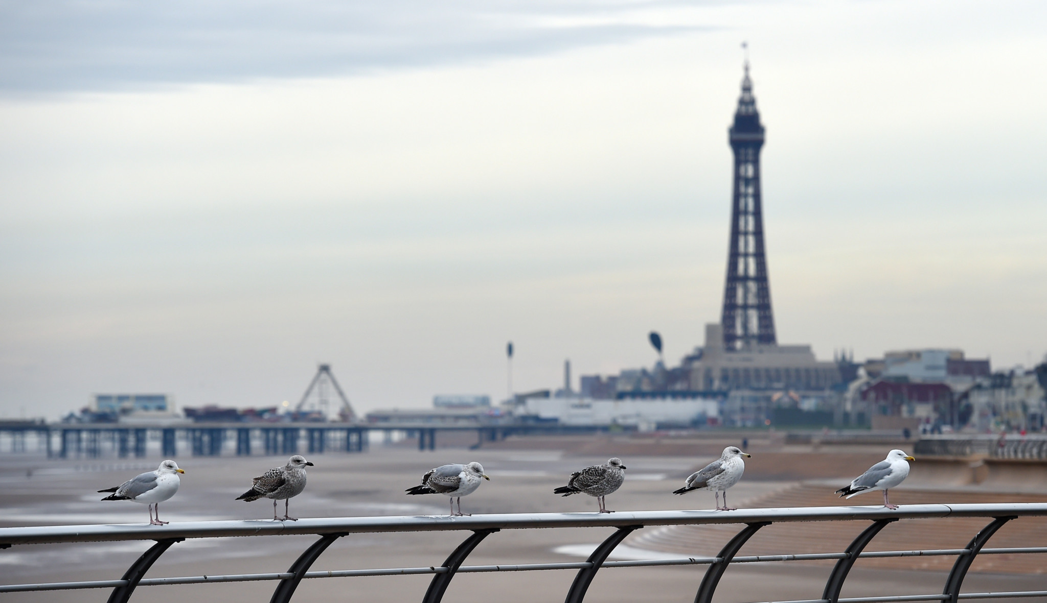 BRITAIN-LIFESTYLE-TOURISM-LEISURE-BLACKPOOL