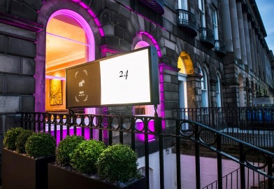 Luxury boutique Edinburgh