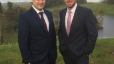 L-R operations manager, Jamie Adamson and financial director Colin Blackett.