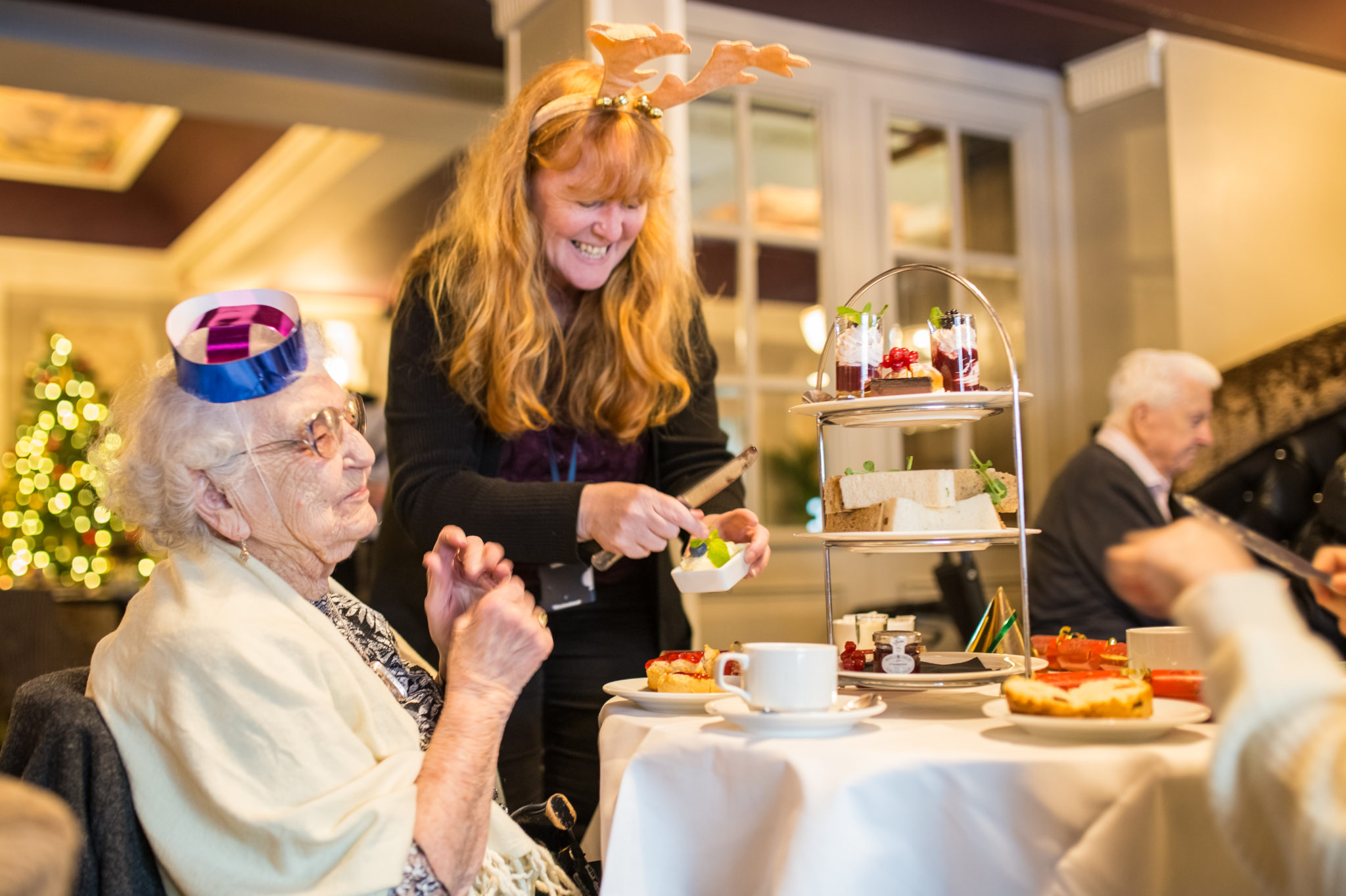 The Cairn Collection has launched its Winter Afternoon Tea in aid of Age UK