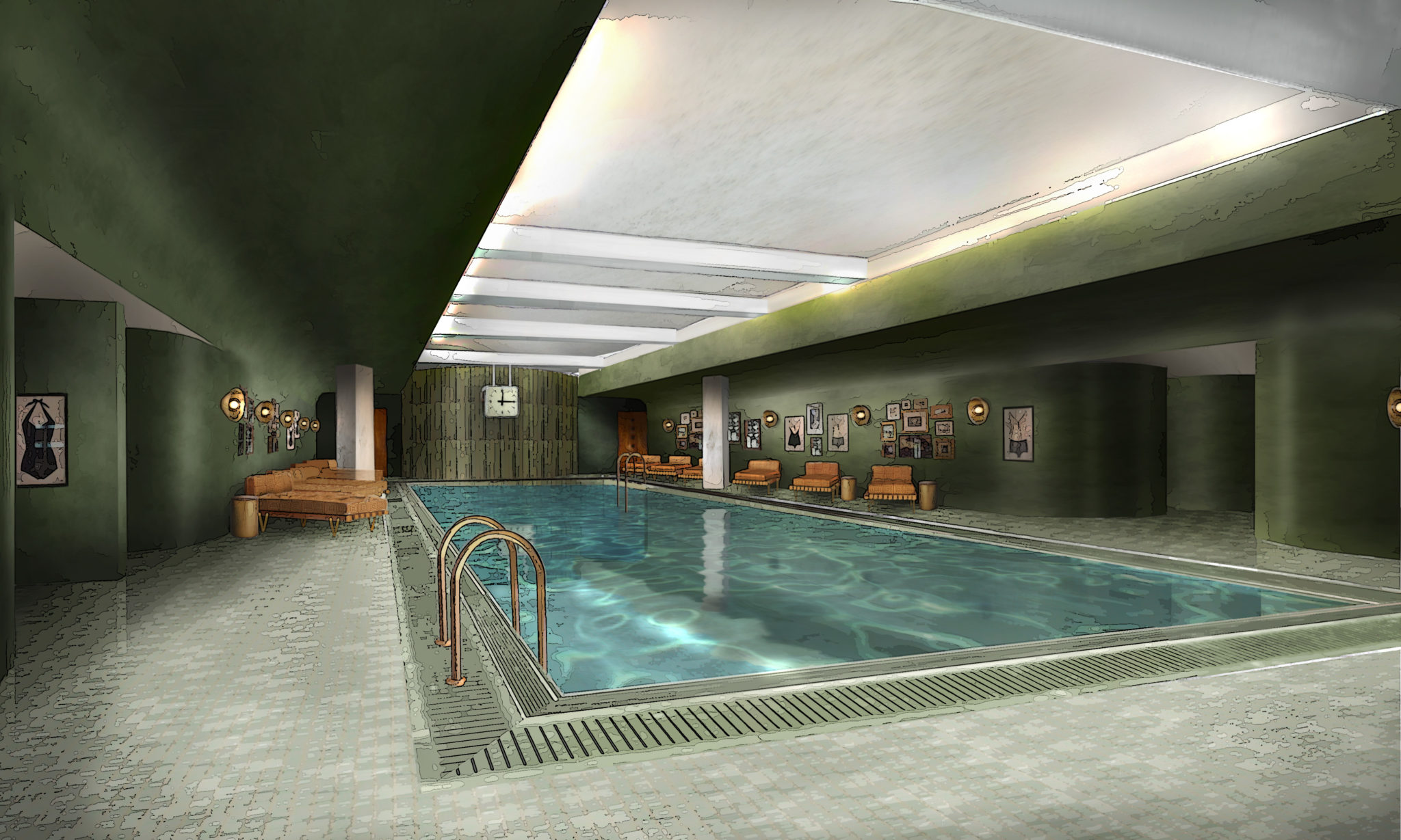 WHITE CITY HOUSE_gym pool