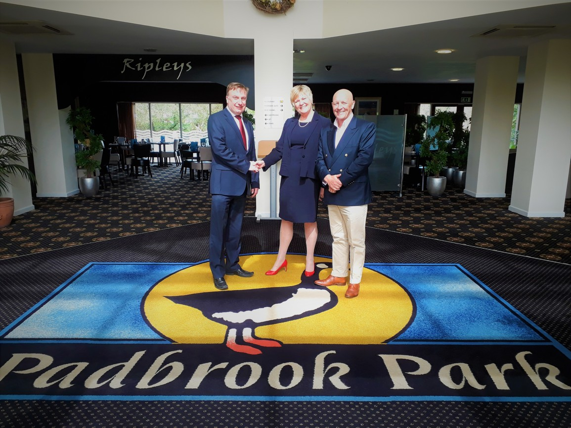 Padbrook Park – Russell with owners