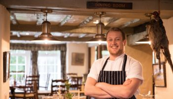 Gordon Stewart new head chef at the Wild Boar Inn 1