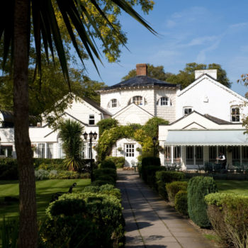 Monkey Island Hotel on a tiny island on the Thames in Bray