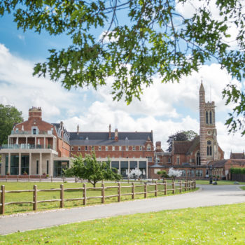 1. Stanbrook Abbey Hotel Exterior