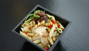 Takeaway Mixed Salad Salad Dining Food Rocket
