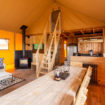 Ullswater-Heights-Glamping-Safari Tent – Interior