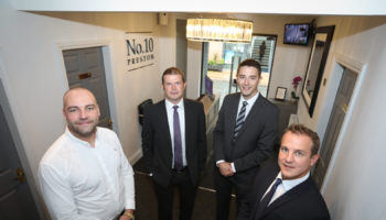 [L-R] Max Walker-Williams (Walker &Williams), David Mitchell (Lloyds Bank), Dale Parkinson (Lloyds Bank), Craig Aikman (Vincents Solicitors)