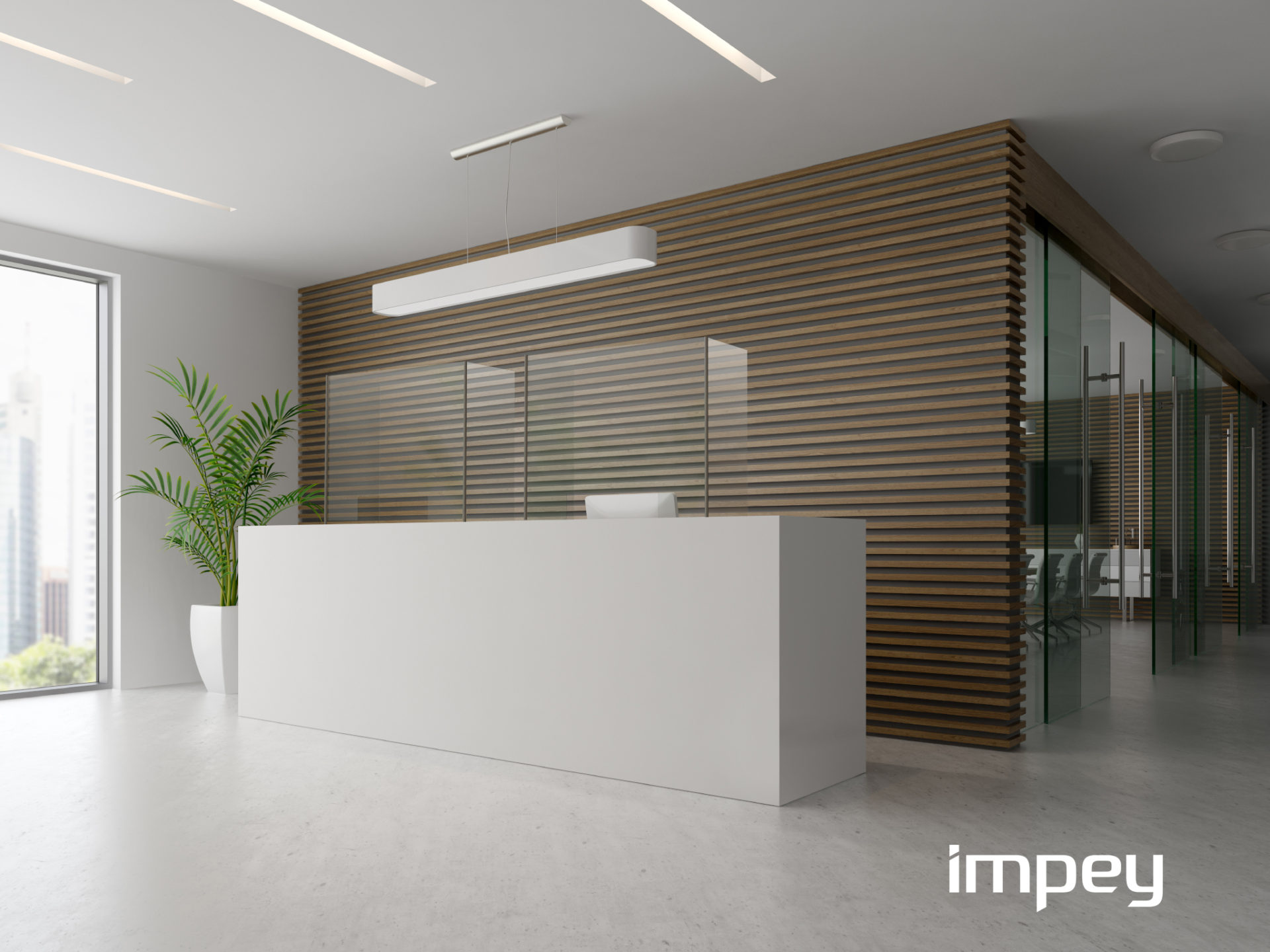 Impey Connect Reception Area
