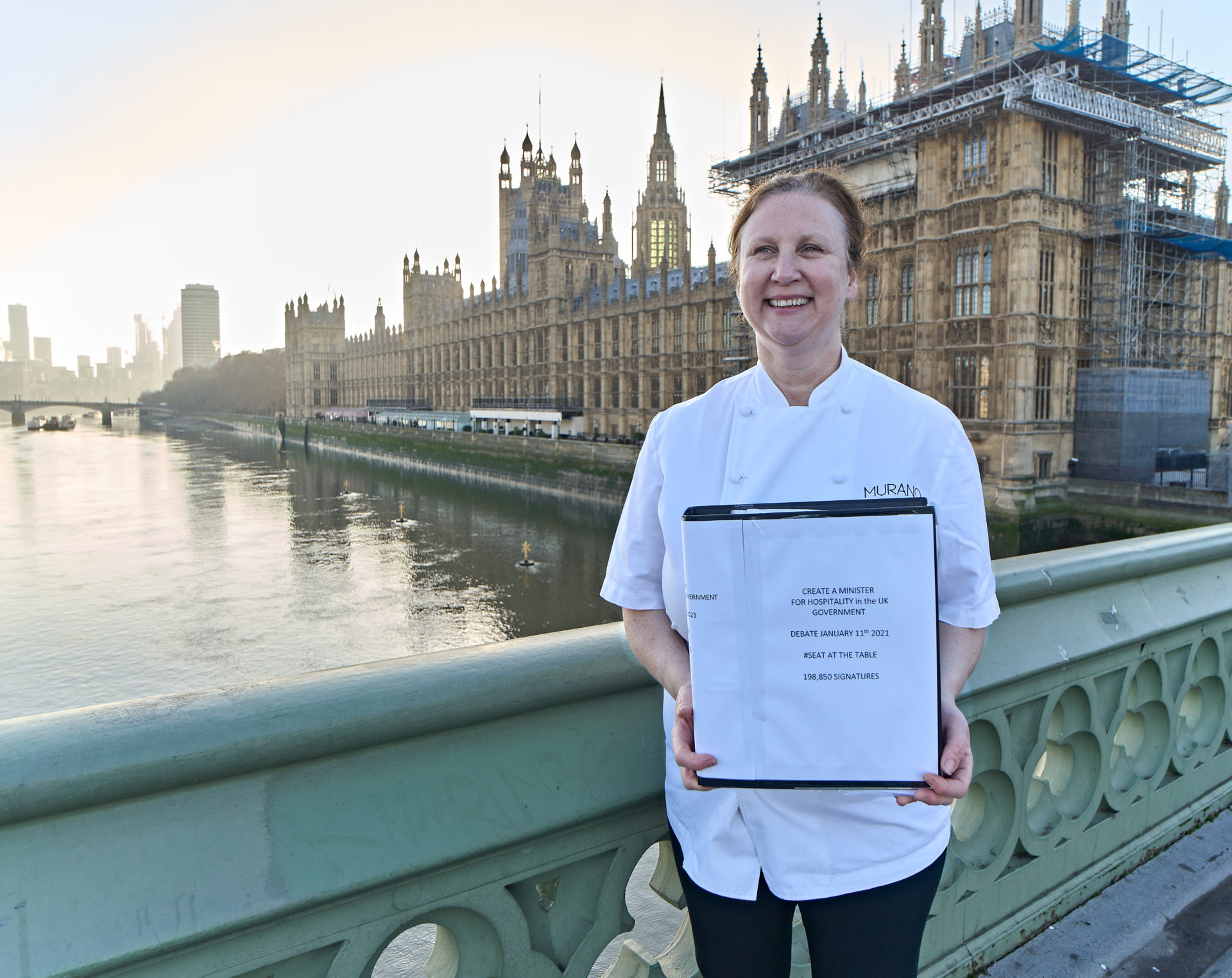 Angela Hartnett Westminster Seat at the Table