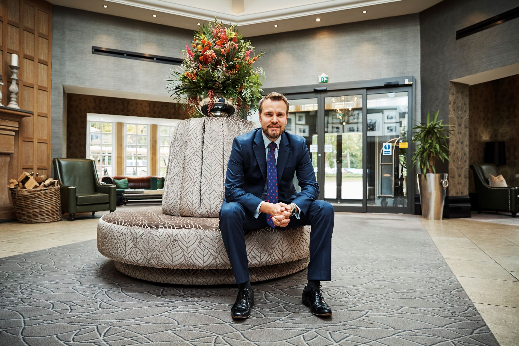 Chris Eigelaar, Resort General Manager at The Belfry Hotel & Resort